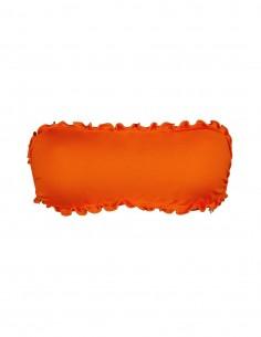 Fascia frou frou colore arancio