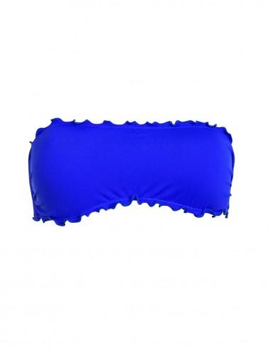 Fascia frou frou colore blue oltremare