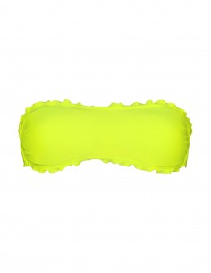 Fascia frou frou colore giallo fluo