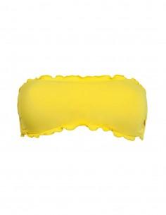 Fascia frou frou colore giallo
