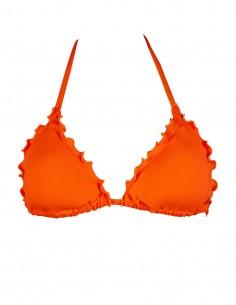Triangolo frou frou colore arancio