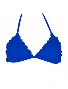 Triangolo frou frou colore blue oltremare