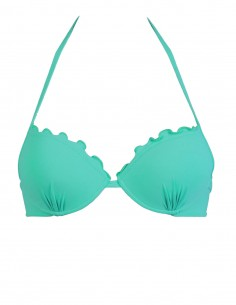Reggiseno super push up frou frou colore tiffany