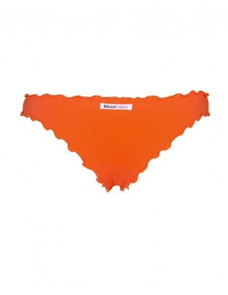Retro dello slip frou frou Giada senza lacci arancio