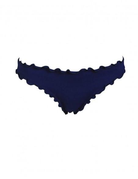 Slip frou frou Giada o brasiliana frou frou Antigua senza lacci colore blue navy