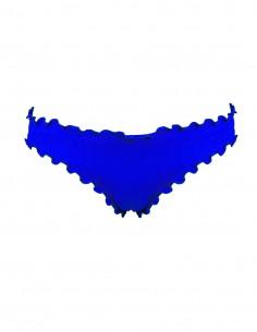 Slip frou frou Giada o brasiliana frou frou Antigua senza lacci colore blue oltremare