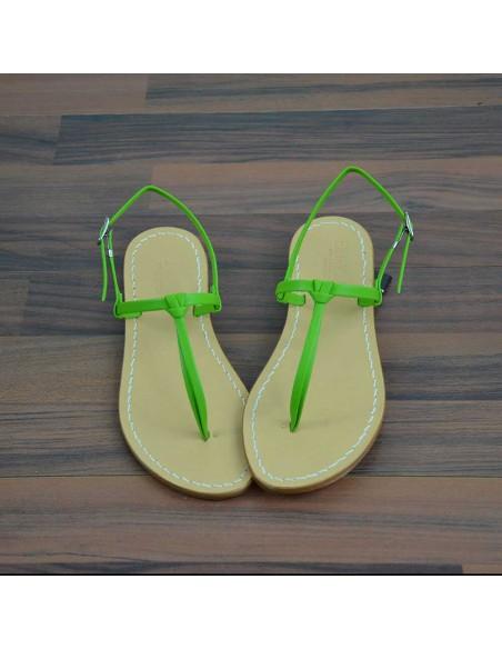 Sandali capresi Aurora colore verde