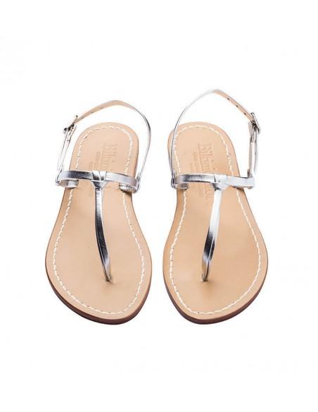 Sandali capresi Aurora colore argento