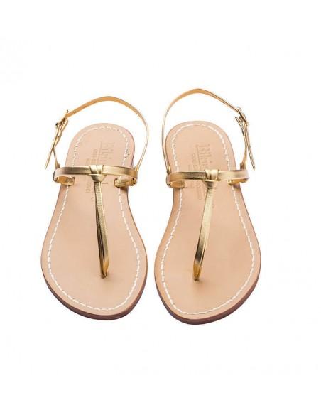 Sandali capresi Aurora colore oro