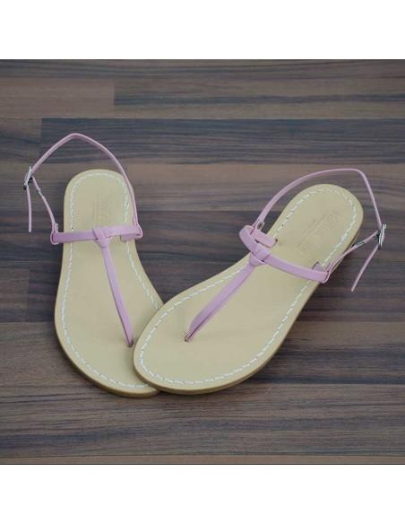 Sandali capresi Aurora colore rosa