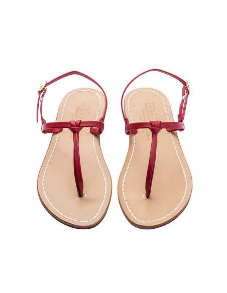 Sandali capresi Aurora colore rosso