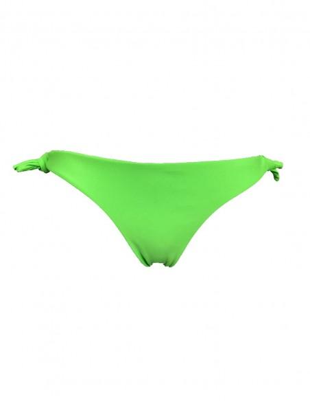 Slip Elea o Brasiliana Hilda, lisci, senza cuciture, colore verde fluo