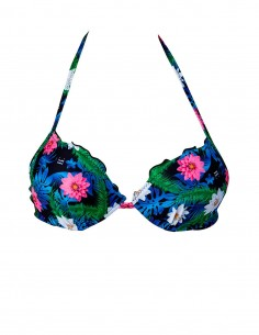 Reggiseno super push up frou frou fantasia Lotus