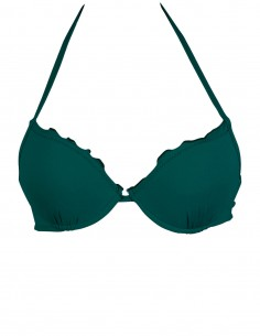Reggiseno super push up frou frou colore verde quercia