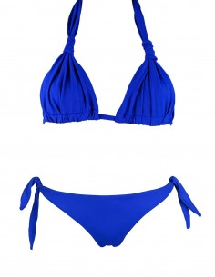 Triangolo golden con brasiliana Hilda o Slip Elea blue oltremare