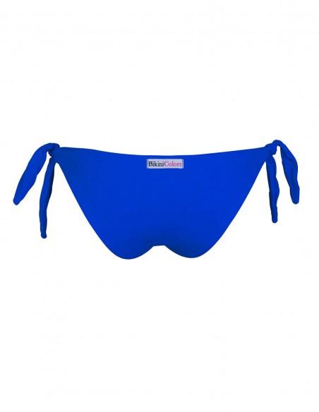 Retro dello slip con lacci Elea colore blue oltremare